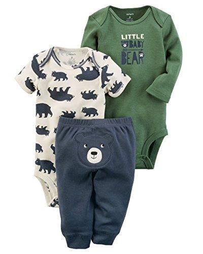 Carter's Baby Boys' 3 Piece Baby Bear Little Character Set Newborn