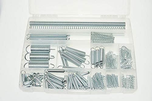 Swordfish 30370-152pc Extension and Compression Spring Assortment