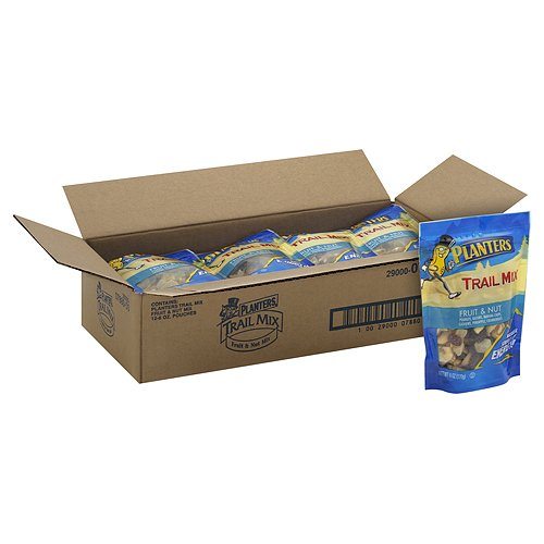 Planters Fruit and Nuts Trail Mix (12 Bags), 6 oz, Assorted ()