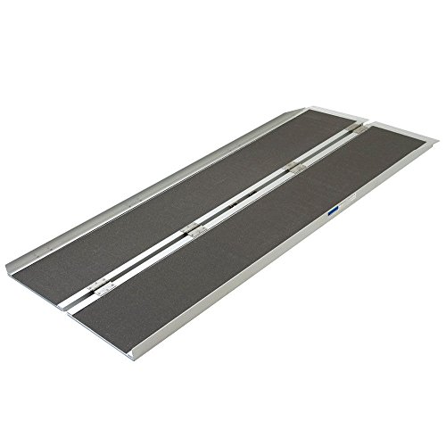 FCH 6' Wheelchair Ramp Folding Portable Wheelchair Scotter Threshold Ramp by FCH