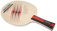 Donic's Ovtcharov Carbospeed is similar in construction to the Waldner Legend Carbon, but differs slightly because of its somewhat thicker inner ply, in combination with a high class Hinoki outer ply. It is a very fast carbon blade with great...