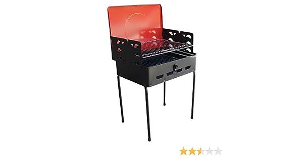 Ferraboli - Barbacoas, hornos con carbón de leña, hornos con carbón picnic mod pack cierre: Amazon.es: Hogar