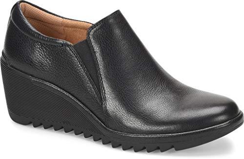Comfortiva Women's Aniston Black Leather 7.5 C/D US