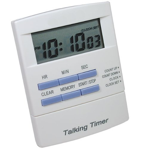 - Tel Timer Digital Talking Countdown Timer