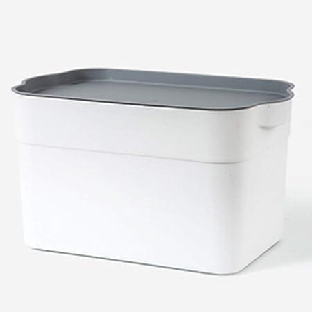 Arcones de almacenaje Caja de Almacenamiento de plástico Cargado Libro de Ropa Estudiante pequeño Libro Caja Dormitorio Almacenamiento artefacto Aula Poner la Caja de Acabado: Amazon.es: Hogar