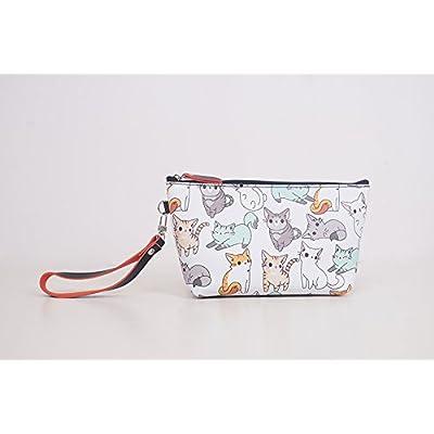 LULANSac cosmétique petit bagage à transporter un paquet simple belle inclus dans le package, 16.5*8*12.5cm,6 No de cat.