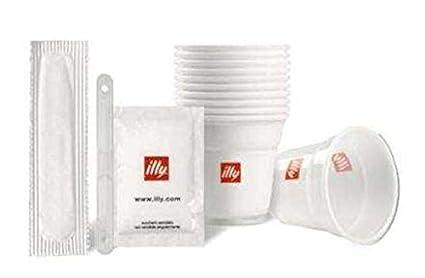 Kit desechable para 200 Cafés (200 vasos, 200 bolsitas de azúcar, 200 paletas