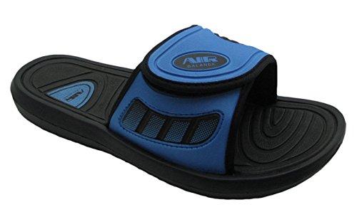 Luft Menns Komfortabel Dusj Strand Sandal Tøfler M / Justerbar Stropp I Stilige  Farger Svart /