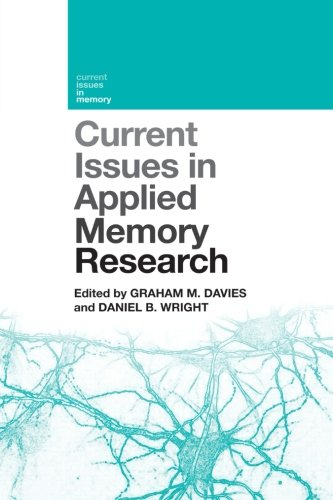 Current Issues in Applied Memory Research (Current Issues in Memory) by Psychology Press