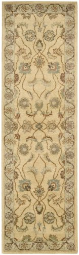 Nourison Charleston Gold Runner Area Rug, 2-Feet 3-Inches by 8-Feet 2 3 x 8