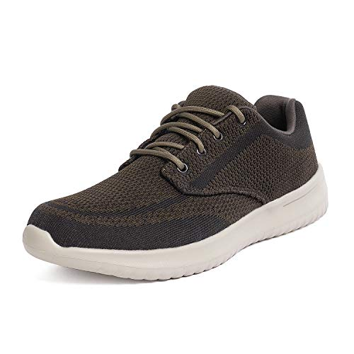 Bruno Marc Men's Walking Shoes Sneakers Walk-Easy-02 Coffee Size 7.5 M US ()