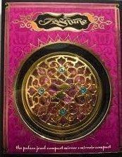 Amazon.com: Disney Jasmine Collection The Palace Jewel Compact Mirror: Beauty