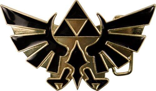 Nintendo ZELDA Black Enamel BUCKLE