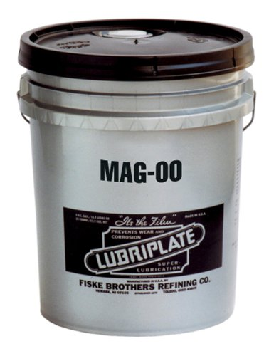 LUBRIPLATE L0186-035MAG-00 온도의 광범위를 위한 리튬 중합체 윤활제 35LB 들통