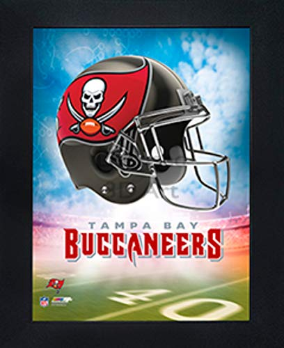 """Tampa Bay Buccaneers 3D Poster Wall Art Decor Framed 