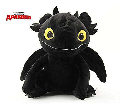 20CM How to Train Your Dragon 2 Toothless Night Fury Cartoon Plush Toy