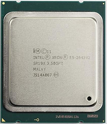Intel Xeon 6 Core Processor E5-2643v2//E5-2643 V2 3.5ghz Sr19x CPU Renewed