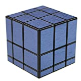 JIAAE Puzzle Rubik's Cube Professional Children Competition Game Smooth Brushed Mirror Surface Rubik,Blue