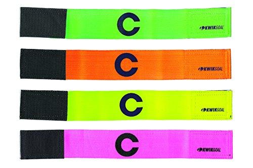 Kwik Goal Captain C Arm Band, Green