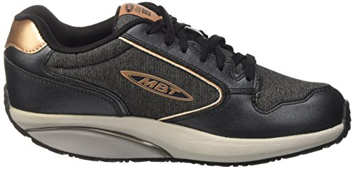 Mbt Dame 1997 Sneaker, Sort Multicolore (sort Pink / Guld)