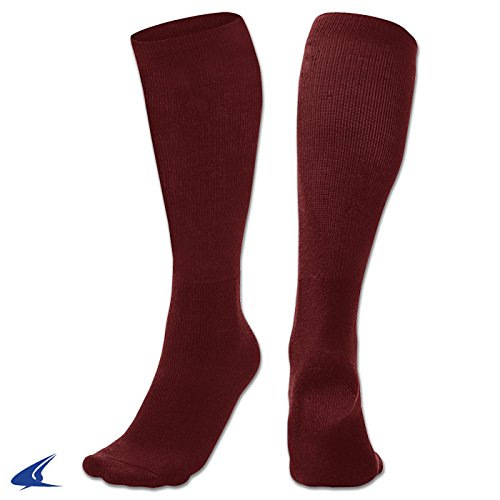 Champroスポーツmult-sportソックス B01N23E74O Medium|Champro Sports Mult-Sport Socks, Maroon, Medium Champro Sports Mult-Sport Socks, Maroon, Medium Medium