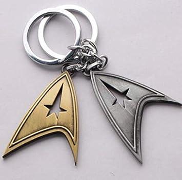 Llavero con logo de Star Trek de la siguiente generación