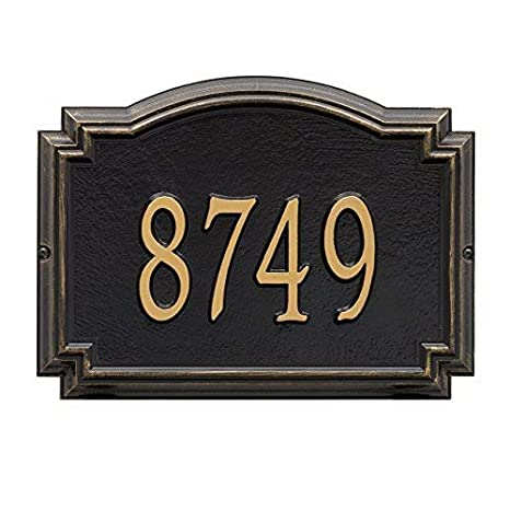Whitehall Products 1290AC Williamsburg Standard Wall One Line in Antique Copper
