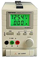 TekPower TP12001X 120V DC Variable Switching Power Supply Output 0-120V @1A, Digital Display with Back Light