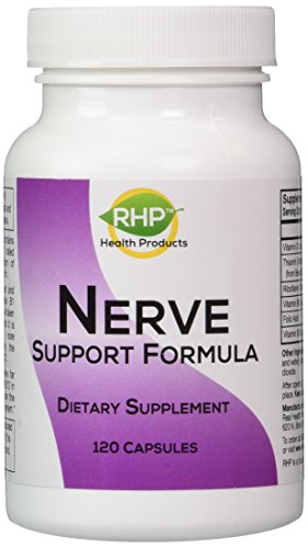 Nerve Support Formula for the Nutritional Support of Peripheral Neuropathy and Nerve Pain Relief, 120 Capsules