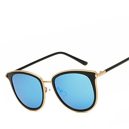 Lunettes de soleil monture ronde couvrant ses dames de visage lunettes de soleil femme lunettes personnalité de la mode rétro , 4