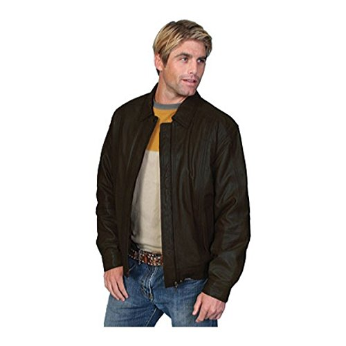 [スカーリー] メンズ ジャケット&ブルゾン Premium Lambskin Jacket 978 [並行輸入品] B07DJ1YNKM L