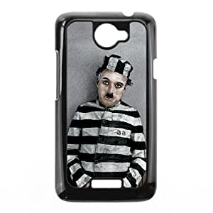HTC One X Cell Phone Case Black Charlie Chaplin qkep