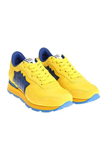 Giallo Uomo Stars Sneakers Antarnga23a Camoscio Atlantic 4PR6n