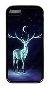 iPhone 5c case, Cute Night Bringer Interactive iPhone 5c Cover, iPhone 5c Cases, Soft Black iPhone 5c Covers