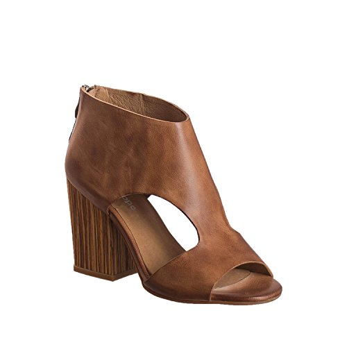 Antelope Women's 784 Taupe Leather Cutout Wrap Heel 37 by Antelope