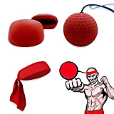 Kairuini Boxing Speed Training Ball Sensitive MMA Boxer Speed Reaction Base Ball Rebound Ball Fright Equipment Accessories Fitness Ball