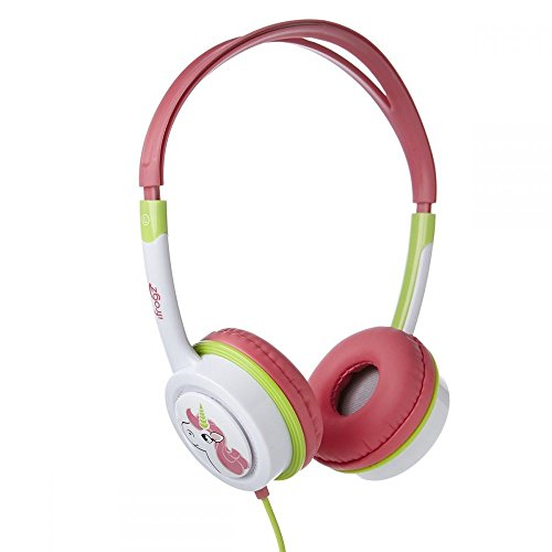 iFrogz Little Rockers Costume Headphones - Pink/Green