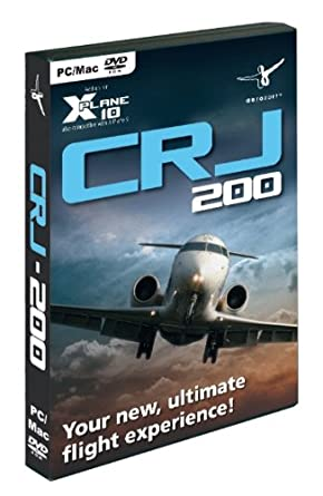 CRJ-200 for X-Plane 10 (PC DVD): Amazon co uk: PC & Video Games