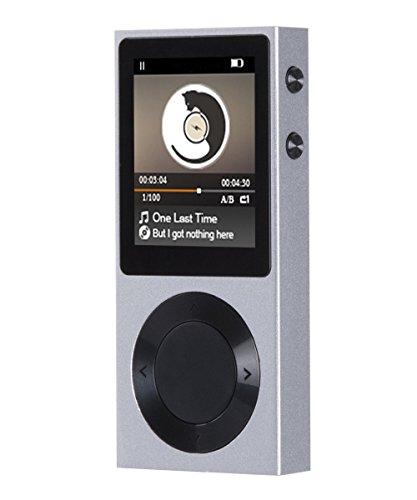 AGPtEK ROCKER Bluetooth 4.0 MP3 Player, High Resolution Loss