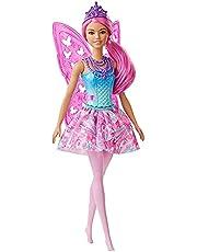 Barbie GJJ98 Dreamtopia Fairy Doll, Assorted