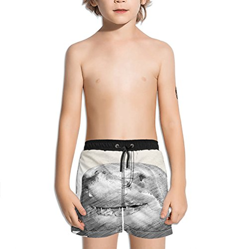 Navigator Quick Dry Shorts - Trum Namii Boy's Quick Dry Swim Trunks Cute Shark with Santa Hat Shorts
