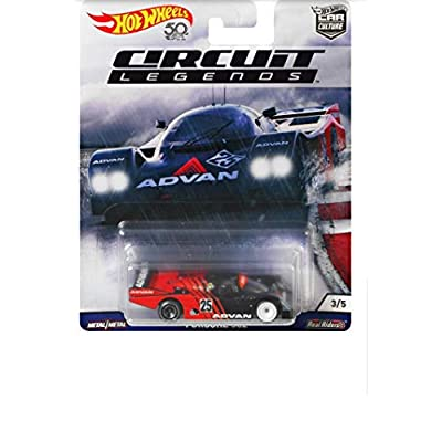 Hot Wheels Porsche 962 Vehicle: Toys & Games