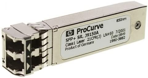 Transceptor de red LC SR SFP+, 10000 Mbit//s, LC, 300m, 850 nm, Multi-mode HP X132 10G SFP
