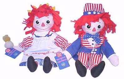 Raggedy Edition Ann Limited (Salute to Liberty Raggedy Ann and Andy Limited Edition)