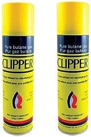 Clipper Multi-Fill Butane Fuel Refill 139 Grams (2 Pack)