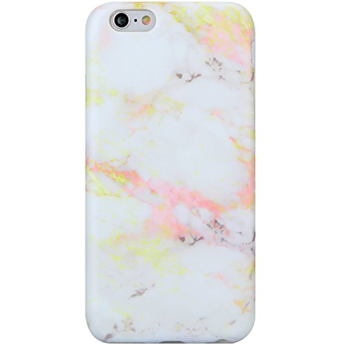 iPhone 6 Case for Girls, iPhone 6s Case,VIVIBIN Cute Grey Gold Pink Marble for Women Girls Clear Bumper Best Protective Soft Silicone Rubber Matte TPU Cover Slim Fit Phone Case for iPhone 6/iPhone 6s