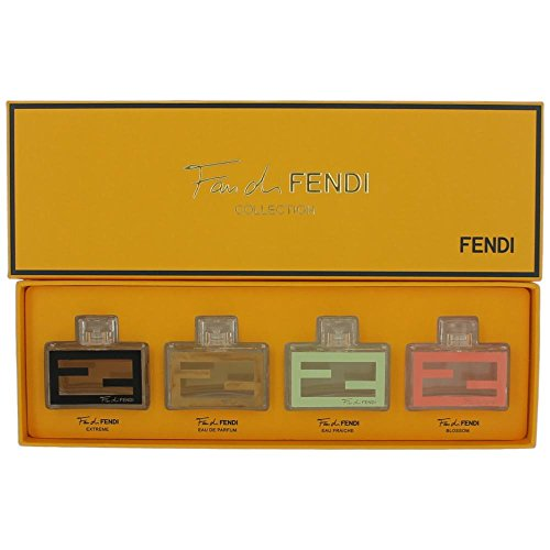 Fendi Fan Di Collection 4 Piece Gift Set for Women, 1 Count