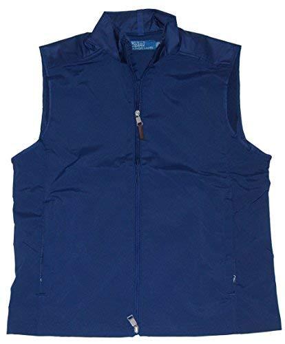 RALPH LAUREN Polo Mens Big Pony Golf Athletic Full-Zip Jacket Vest Navy - For Polo Vest Big Pony Men