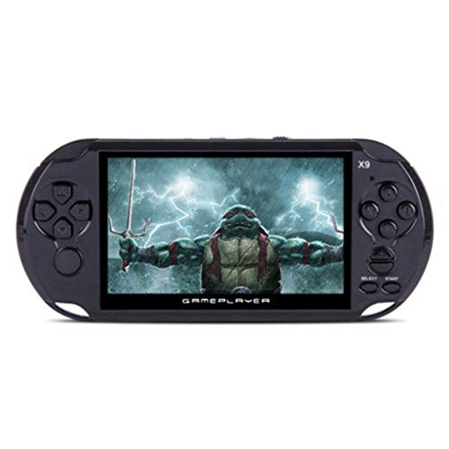 AMOFINY Cool Child X9 Handheld Game Console 8G 5.0in Big Screen Handheld Video Console Street Fighers Final Fight Game Player