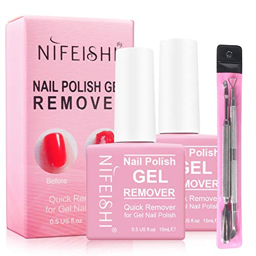 Magic Nail Polish Remover - Remove Gel Nail Polish Within 2-3 Minutes - Quick & Easy Polish Remover